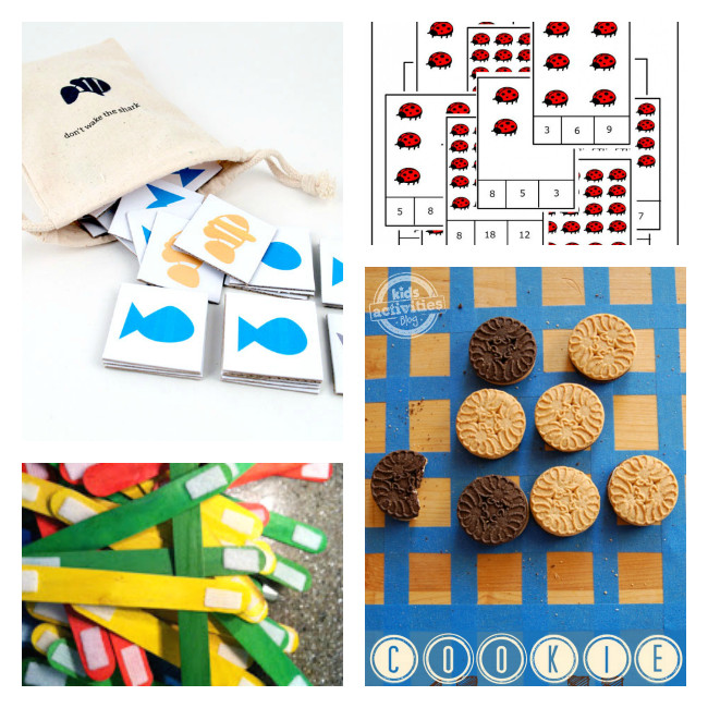 DIY Games For Kids  12 DIY Board Games for Kids Boogie Wipes