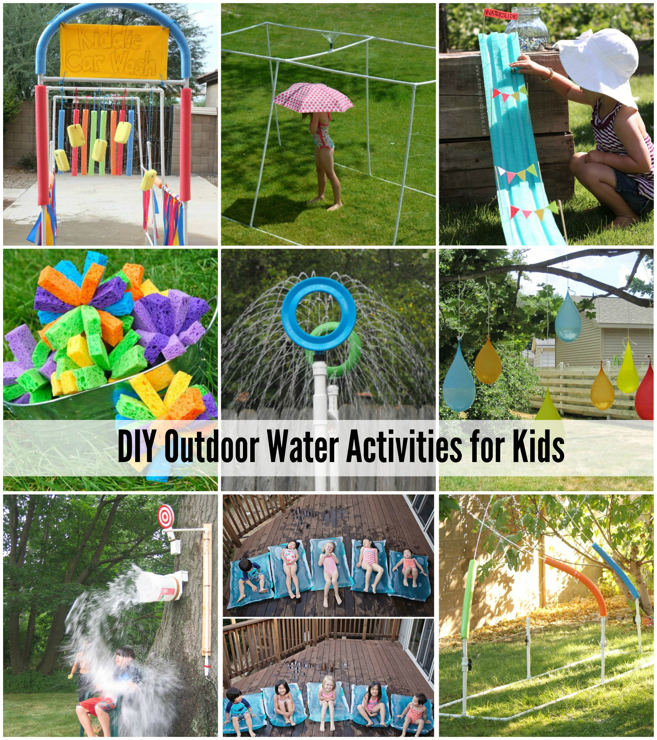 DIY Games For Kids  25 Water Games & Activities For Kids