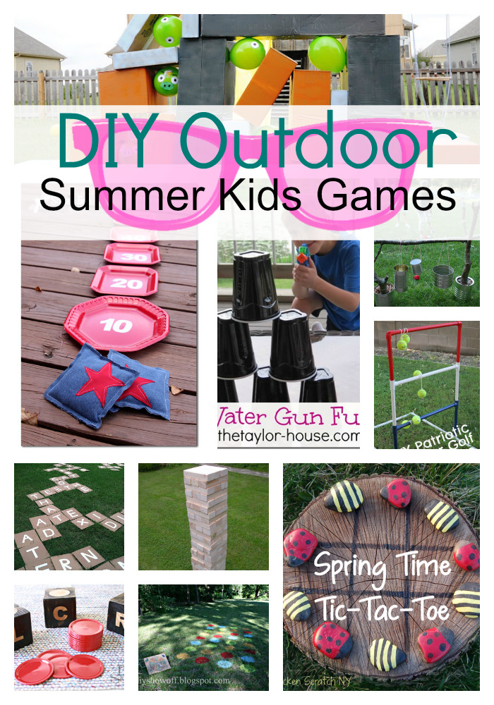 DIY Games For Kids  DIY Outdoor Summer Kids Games s and