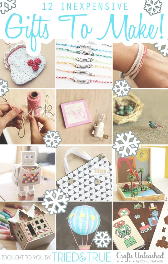 Diy Gift Ideas For Girls  A Crafty Shopping Spree for You Tried & True