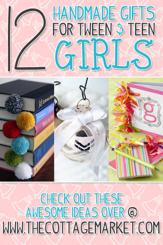 Diy Gift Ideas For Girls  A Dozen Handmade Gifts for Tween & Teen Girls The