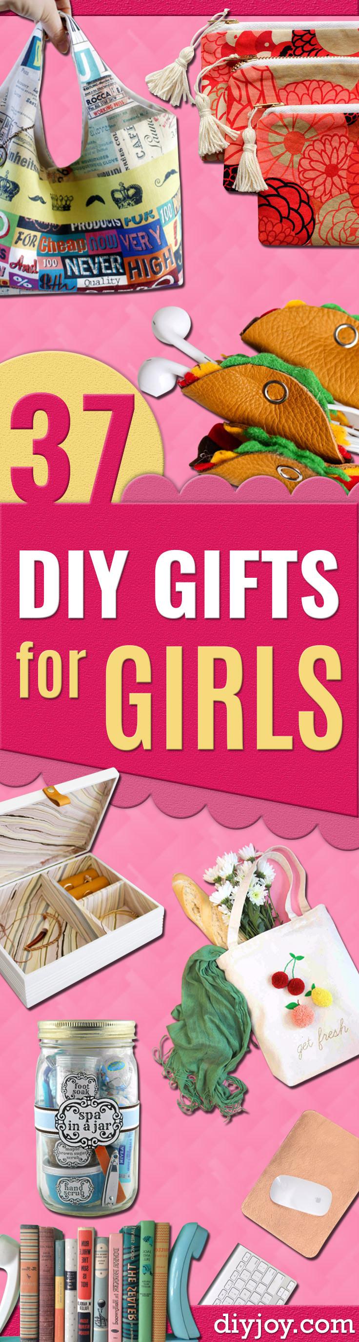 Diy Gift Ideas For Girls  37 Best DIY Gifts for Girls