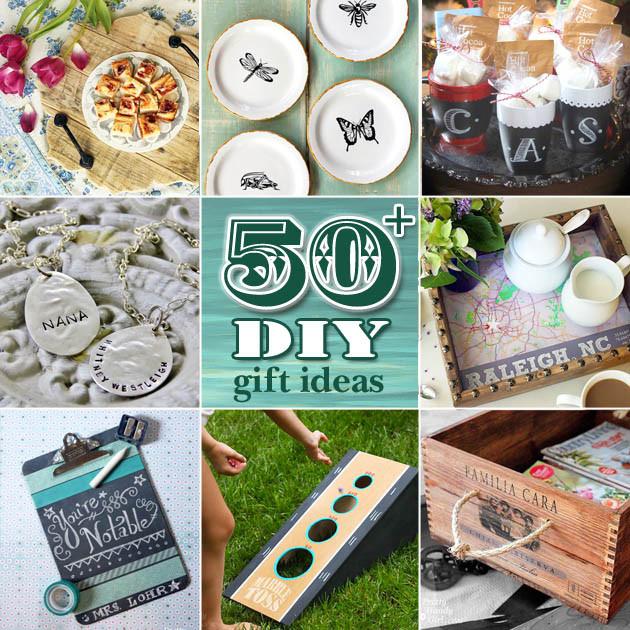 Diy Gift Ideas For Girls  50 DIY Gift Ideas Pretty Handy Girl