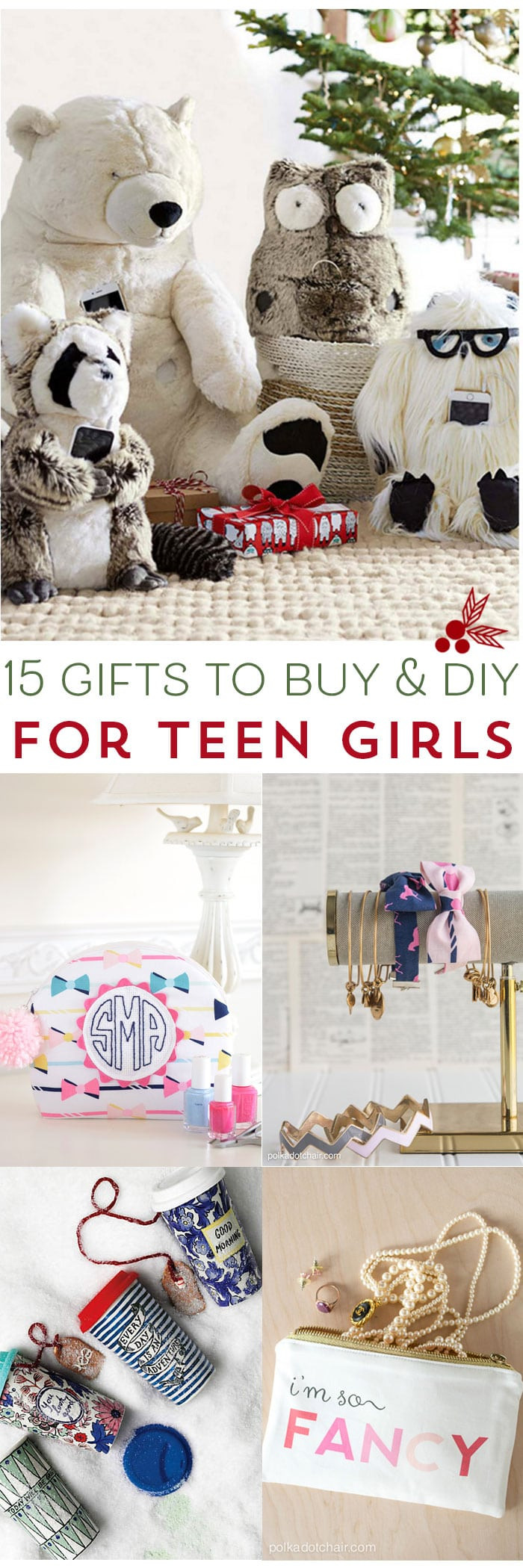Diy Gift Ideas For Girls  15 Gifts for Teen Girls to DIY and Buy The Polka Dot Chair