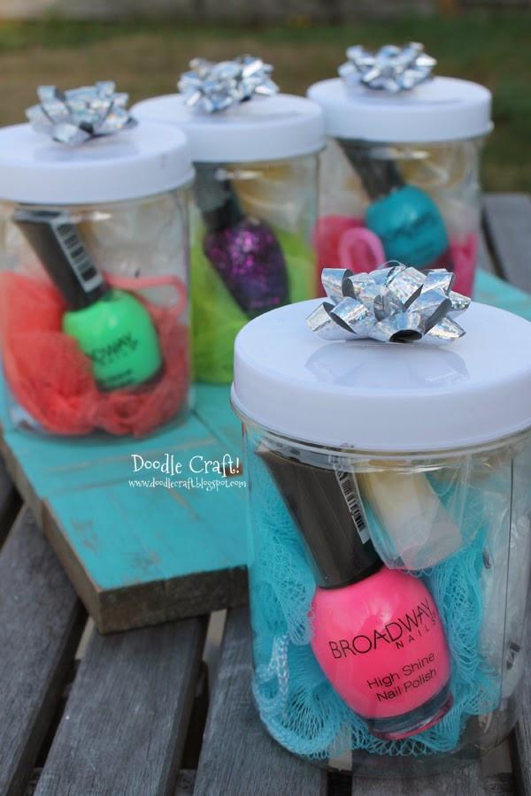Diy Gift Ideas For Girls  Spa Kit Gift Idea