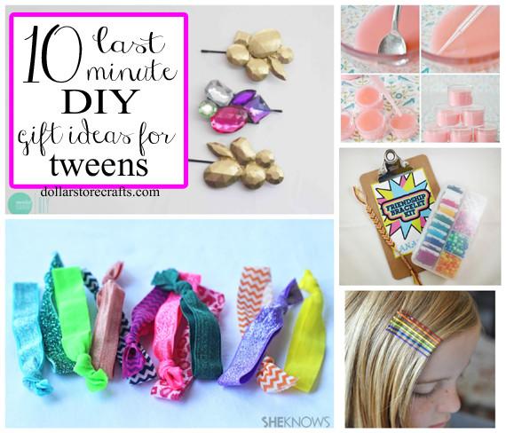 Diy Gift Ideas For Girls  10 Last Minute DIY Gift Ideas for Tween Girls Dollar