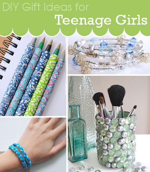 Diy Gift Ideas For Girls  DIY t ideas for teenage girls including jewelry cool