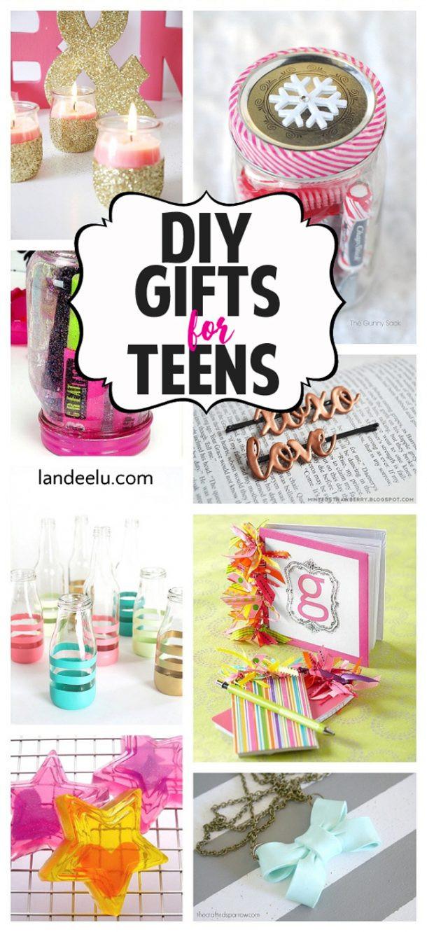 Diy Gift Ideas For Girls  DIY Gift Ideas for Teens landeelu