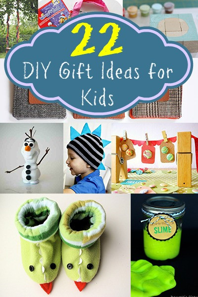 DIY Gifts For Kids  22 DIY Gift Ideas for Kids