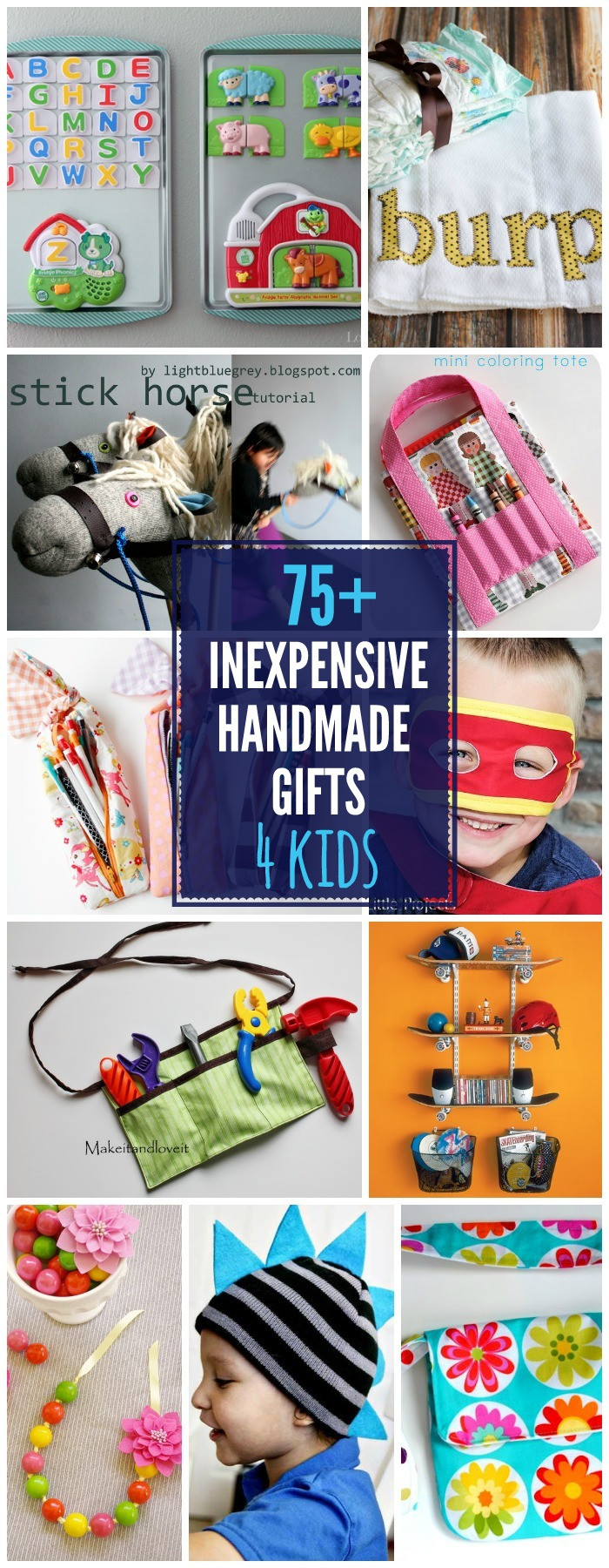 DIY Gifts For Kids  75 DIY Gifts For Kids