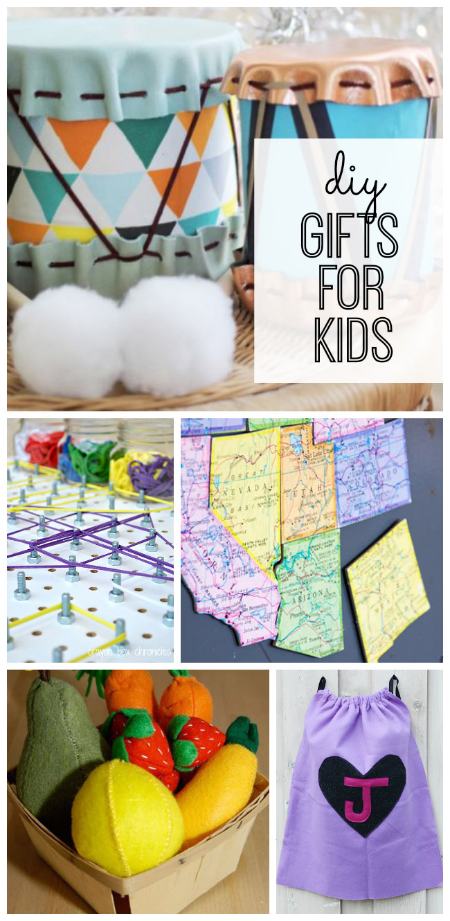 DIY Gifts For Kids  DIY Gifts for Kids My Life and Kids