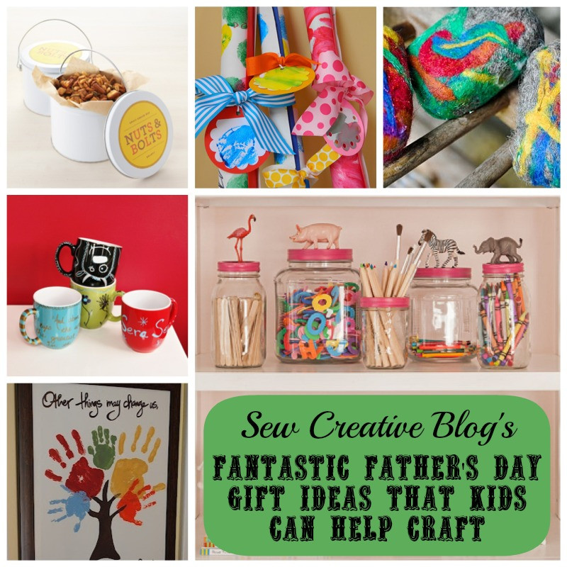 DIY Gifts For Kids  Inspiration DIY Father s Day Gifts Kids Can Help Craft