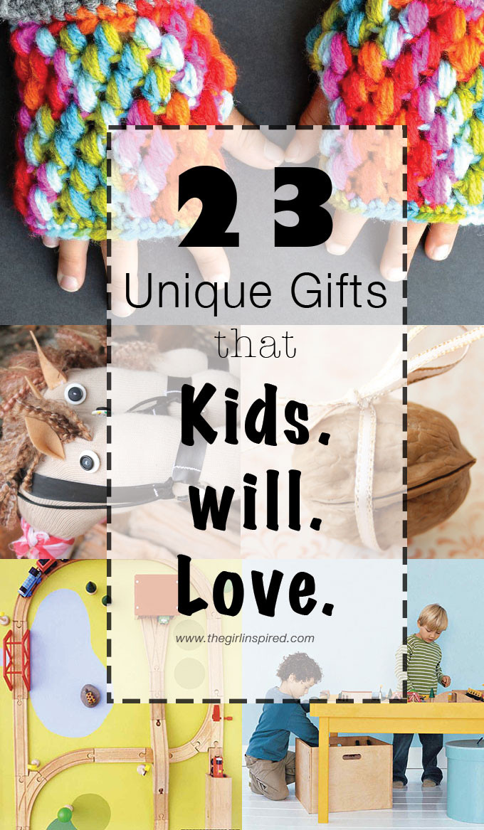 DIY Gifts For Kids  23 Unique Gifts for Kids girl Inspired