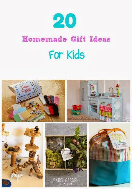 DIY Gifts For Kids  Life With 4 Boys 20 Homemade Christmas Gift Ideas for Kids