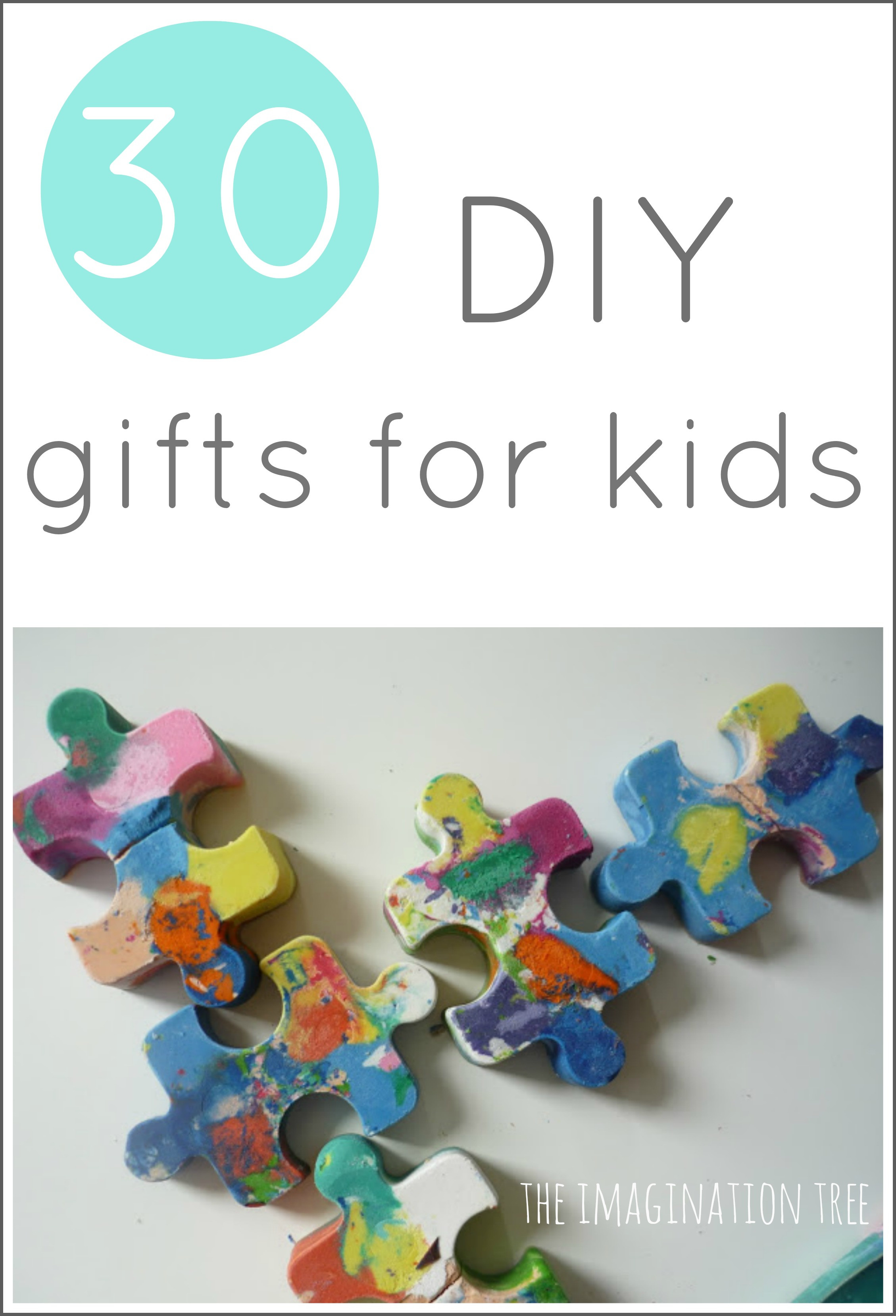 DIY Gifts For Kids  30 DIY Gifts to Make for Kids The Imagination Tree