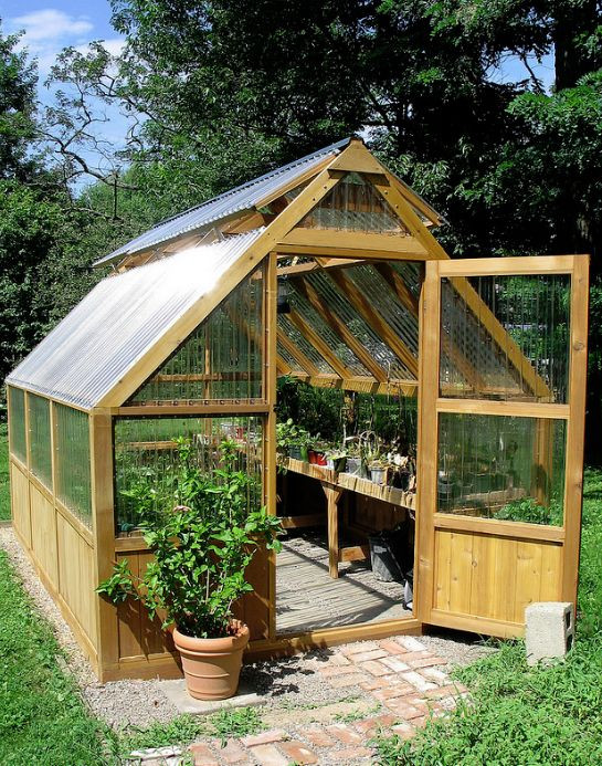 DIY Greenhouses Kits  Best 25 Greenhouse shed ideas on Pinterest