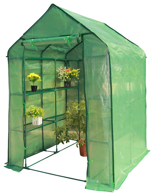 DIY Greenhouses Kits  Portable DIY Greenhouse Kit Contemporary Greenhouses
