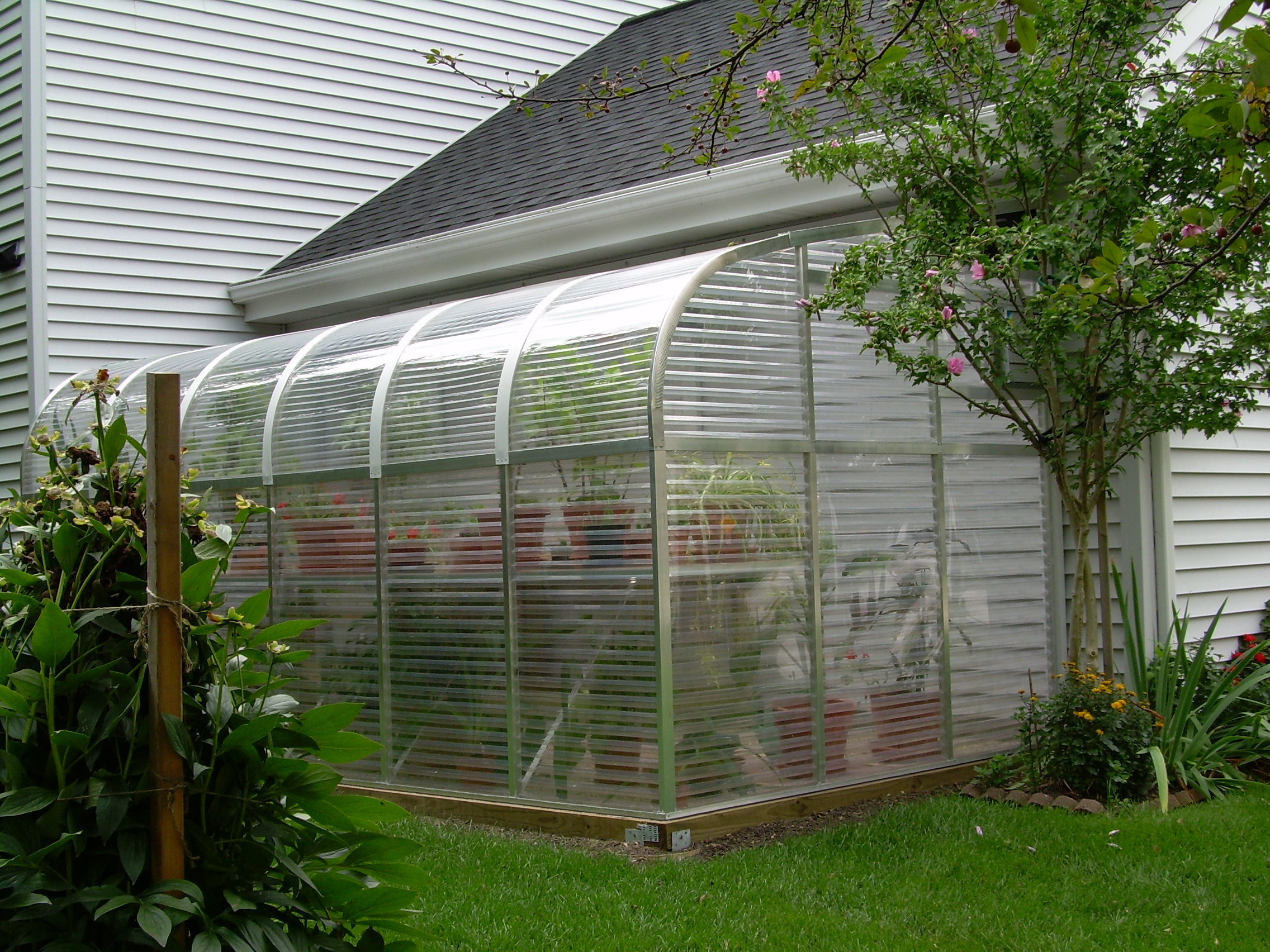 DIY Greenhouses Kits  Sunglo s Lean to DIY Greenhouse Kits The Greenhouse Gardener