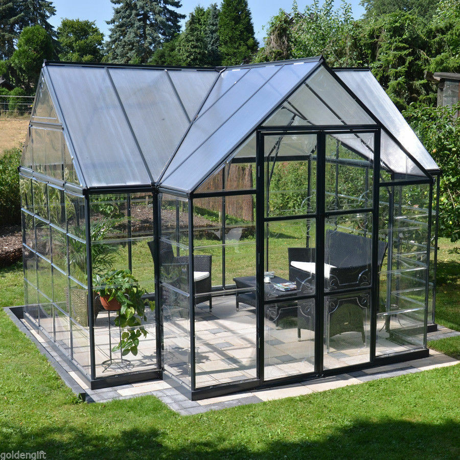 DIY Greenhouses Kits  10x12 Outdoor Greenhouse Frame Kit DIY Hobby Garden