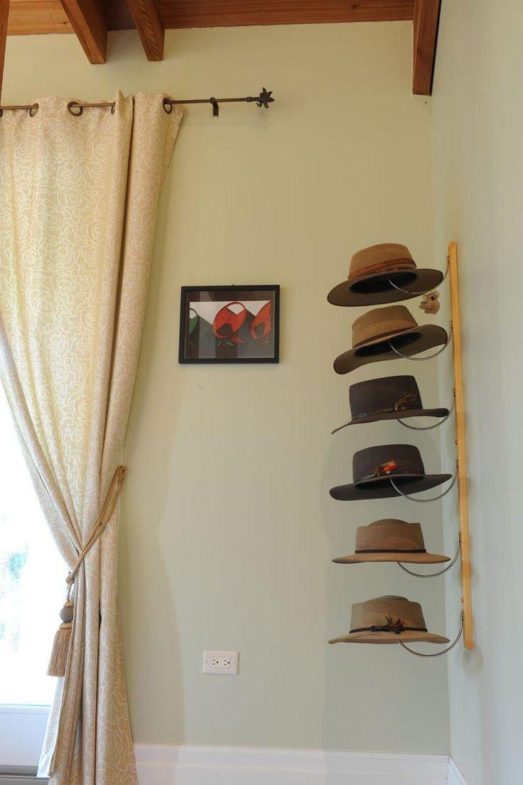 DIY Hanger Rack  Best 25 Hat racks ideas on Pinterest