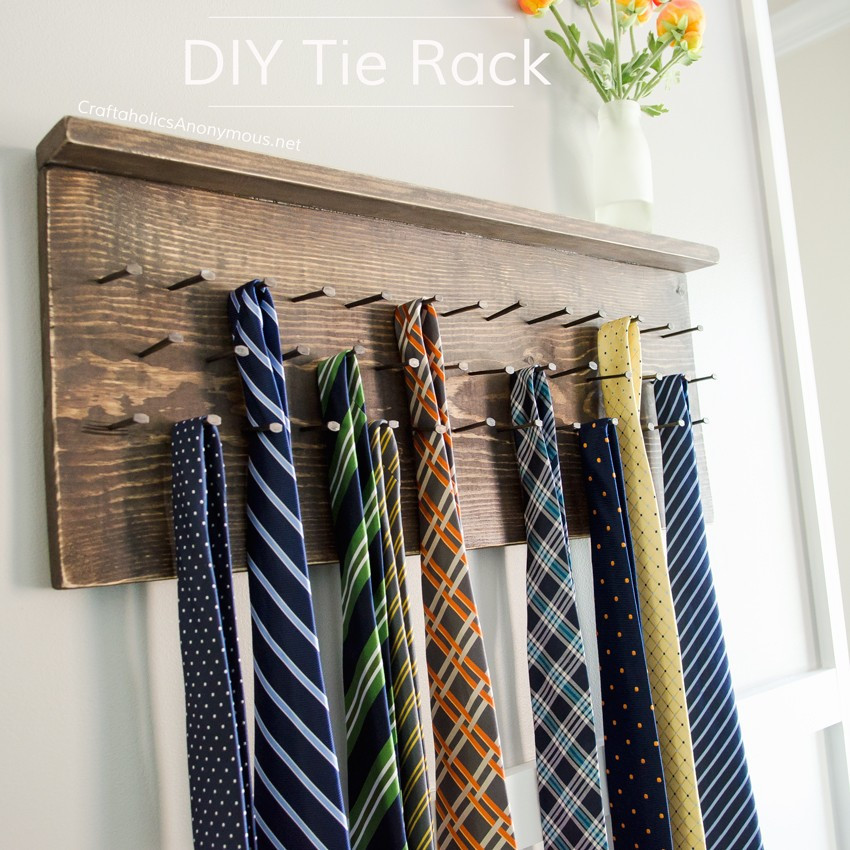 DIY Hanger Rack  Craftaholics Anonymous