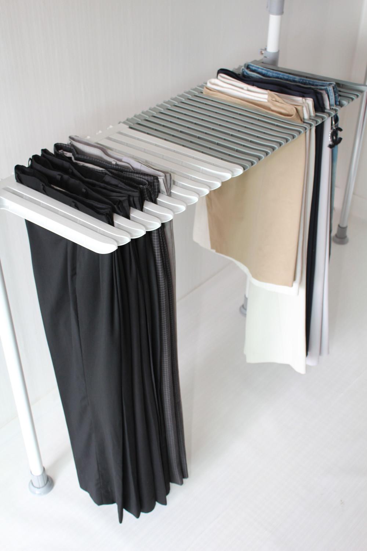 DIY Hanger Rack  Clipless pants hanger rack from RackDIY B2B marketplace