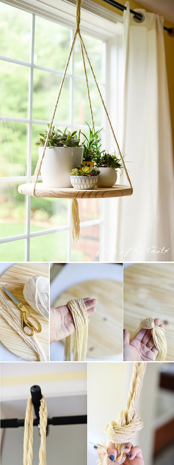 DIY Home Decor Pinterest  DIY FLOATING SHELF to display your plants or other decor items