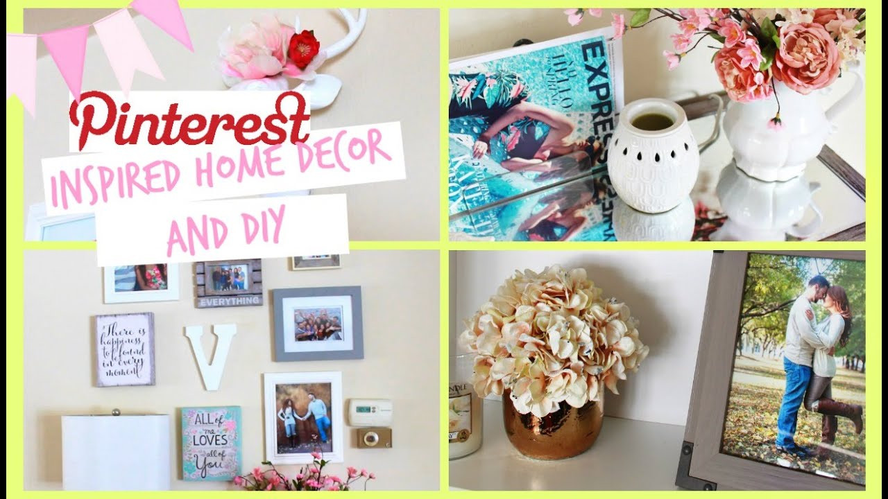 DIY Home Decor Pinterest  Pinterest Inspired Home Decor DIY and HUGE ANNOUNCEMENT