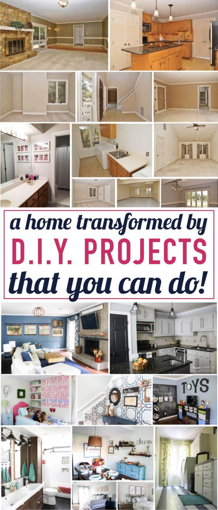 DIY Home Decor Pinterest  Tour My Home full of DIY Home Decor Projects