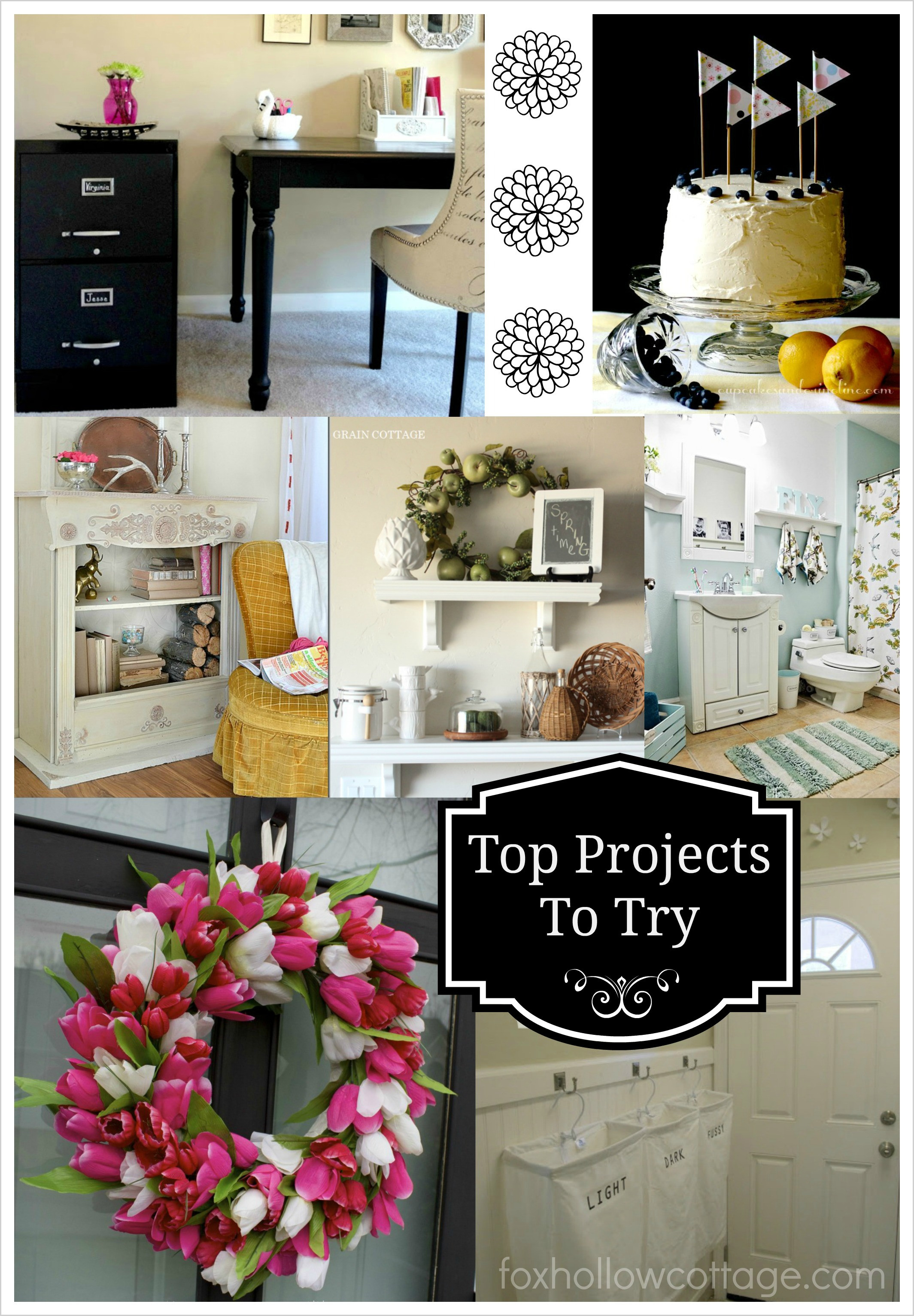 DIY Home Decorating Pinterest  Power Pinterest Link Party and Friday Fav Features