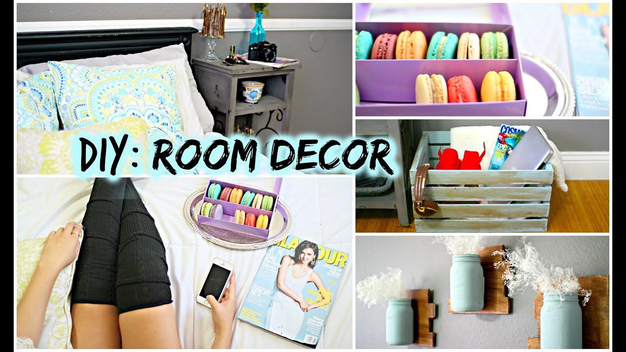 DIY Home Decorating Pinterest  DIY Room Decor for Cheap Tumblr Pinterest Inspired
