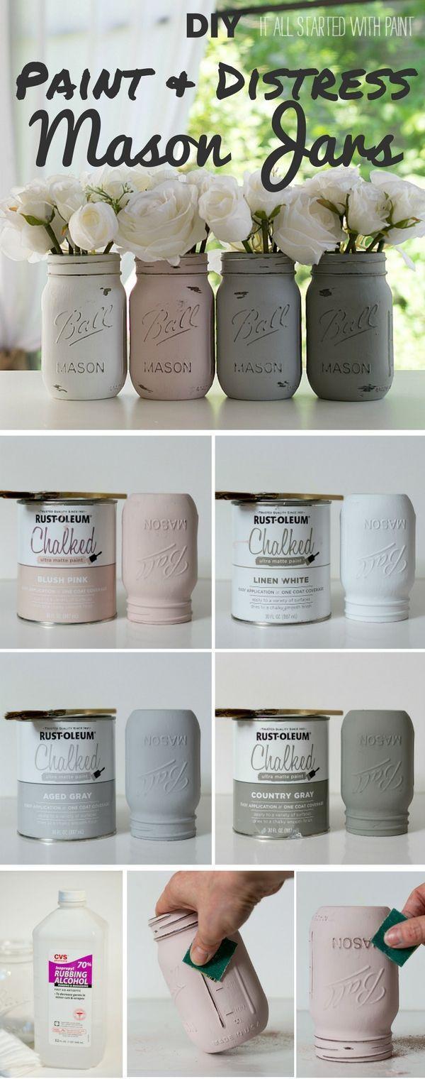 DIY Home Decorating Pinterest  25 best ideas about Mason jar crafts on Pinterest