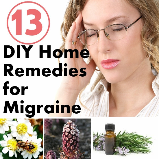 DIY Home Remedies  Top 13 DIY Home Reme s for Migraine