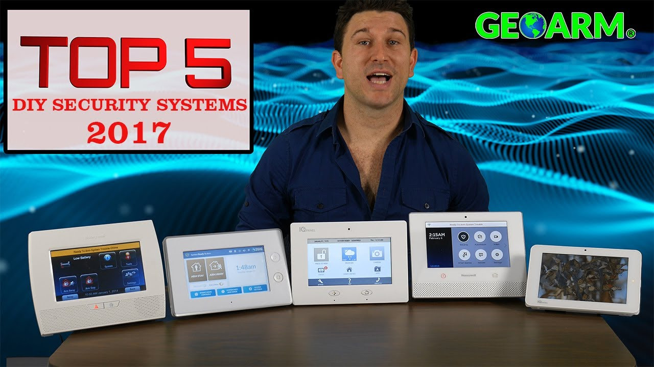 DIY Home Security Monitoring  Best DIY Home Security Systems Top 5 Review 2017