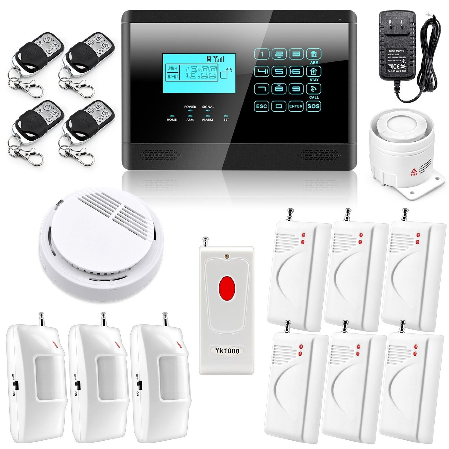 DIY Home Security System  Diy Home Security Alarm Systems