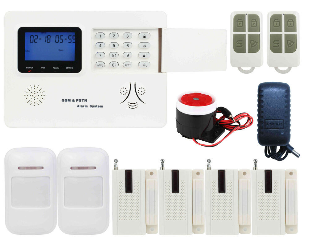 DIY Home Security System  K87 IOS Android APP GSM&PSTN SMS Wireless DIY Home