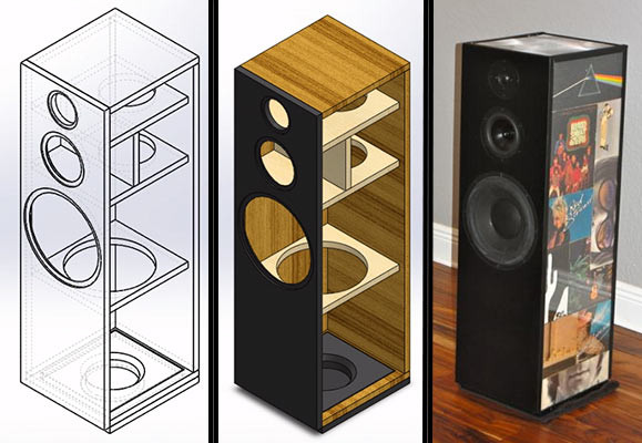 DIY Home Theater Speakers  Building a Do It Yourself Loudspeaker Design