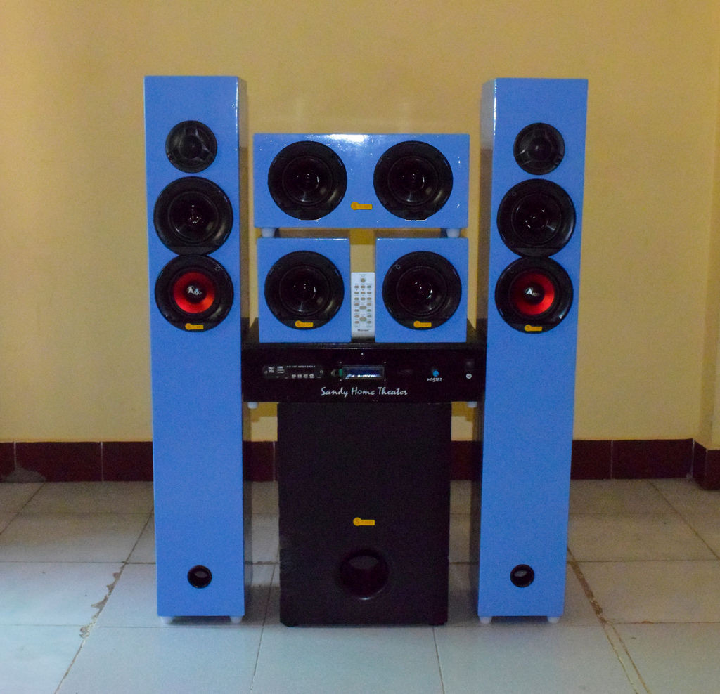 DIY Home Theater Speakers  DIY 5 1 Home Theater System 700watt RMS 12 Steps with