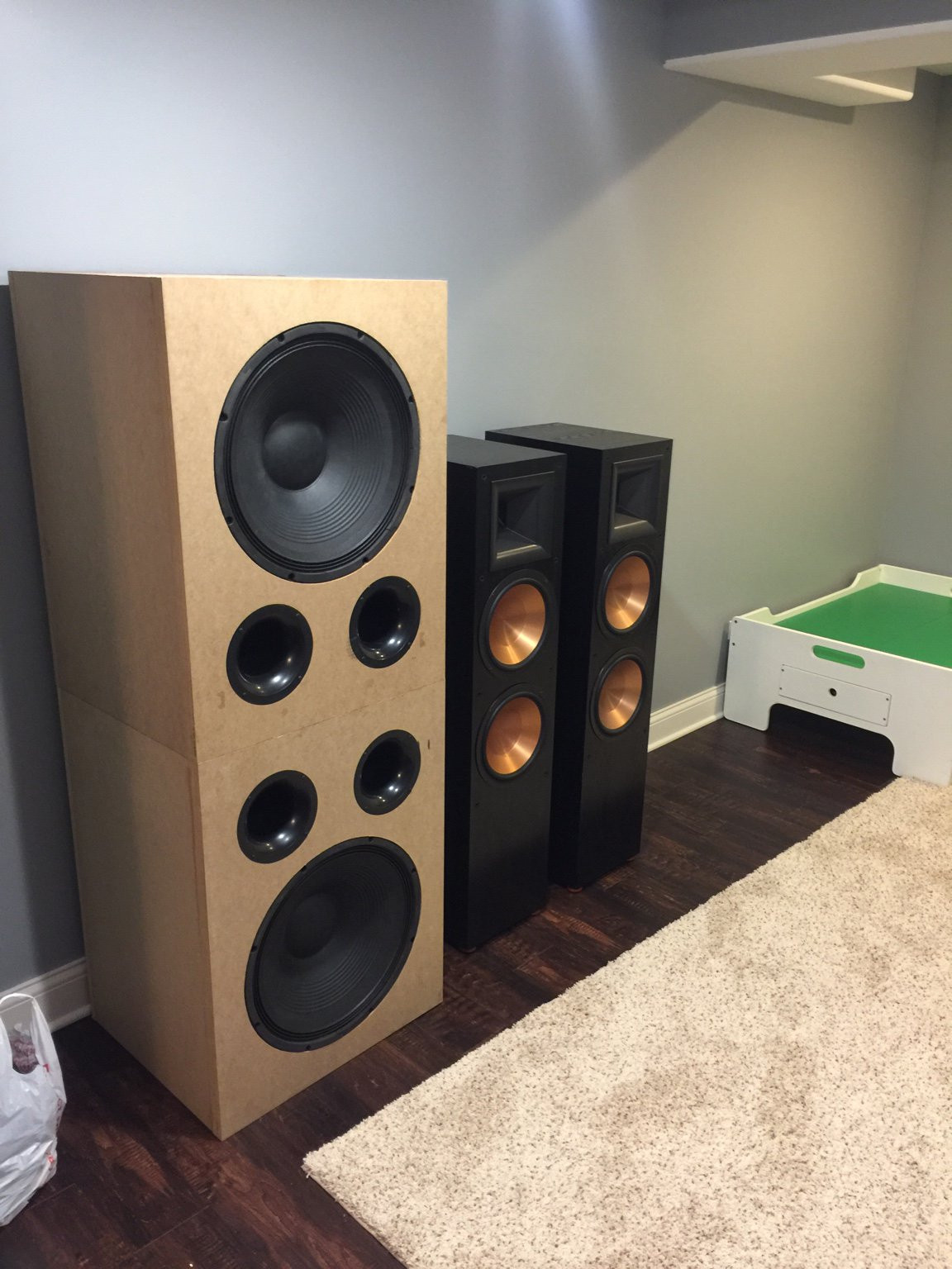 DIY Home Theater Speakers  2016 Diy Speaker Sub GTG meet with a mini REW Class and