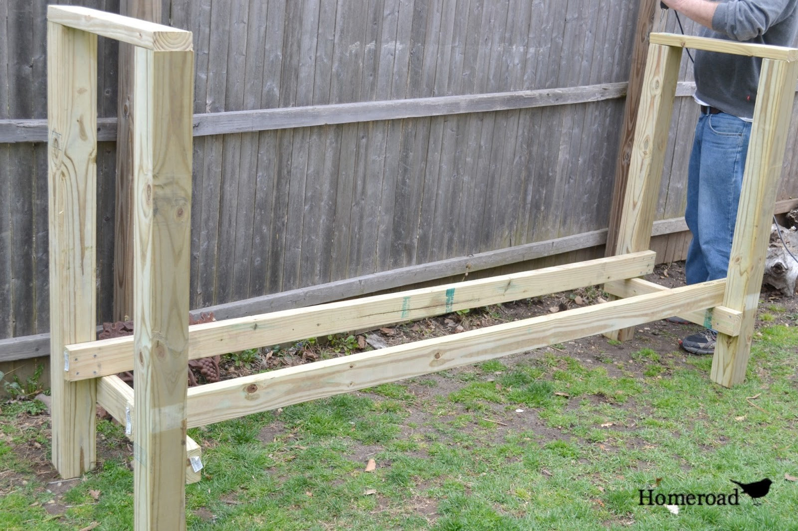 DIY Hydroseed Kit  Diy Log Rack