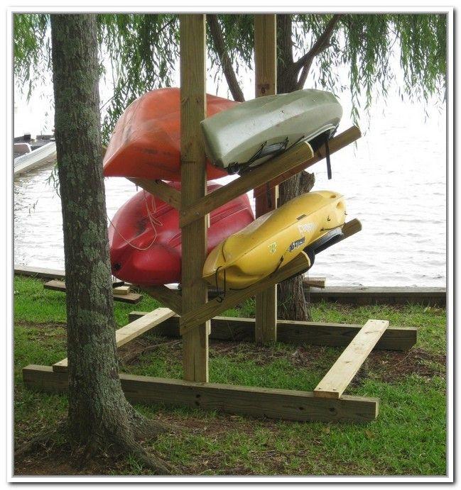 DIY Kayak Storage Rack  25 unique Kayak rack ideas on Pinterest