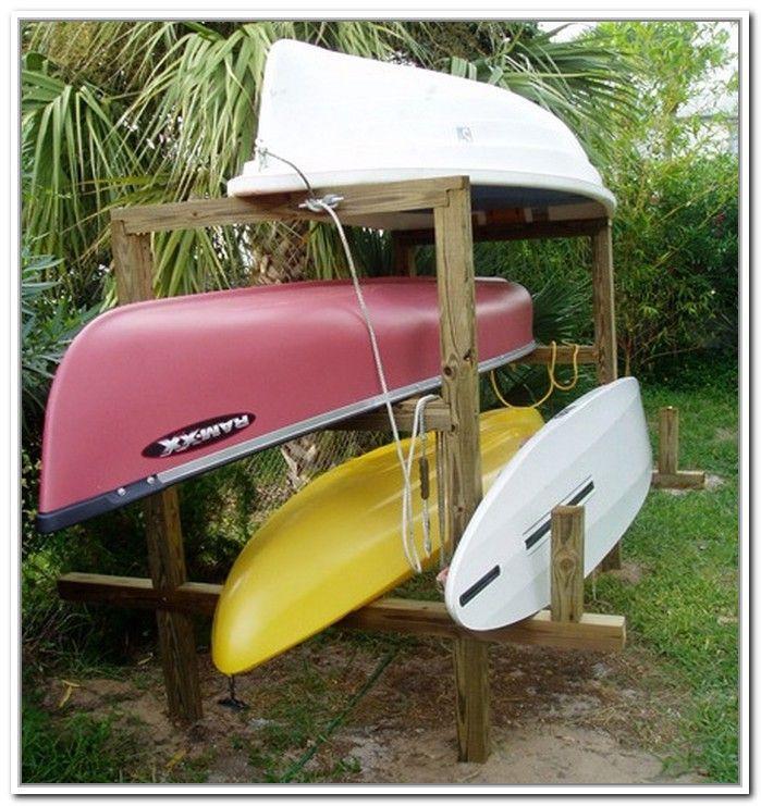 DIY Kayak Storage Rack  51 Kayak Storage Rack Outdoor 25 Best Kayaking Ideas