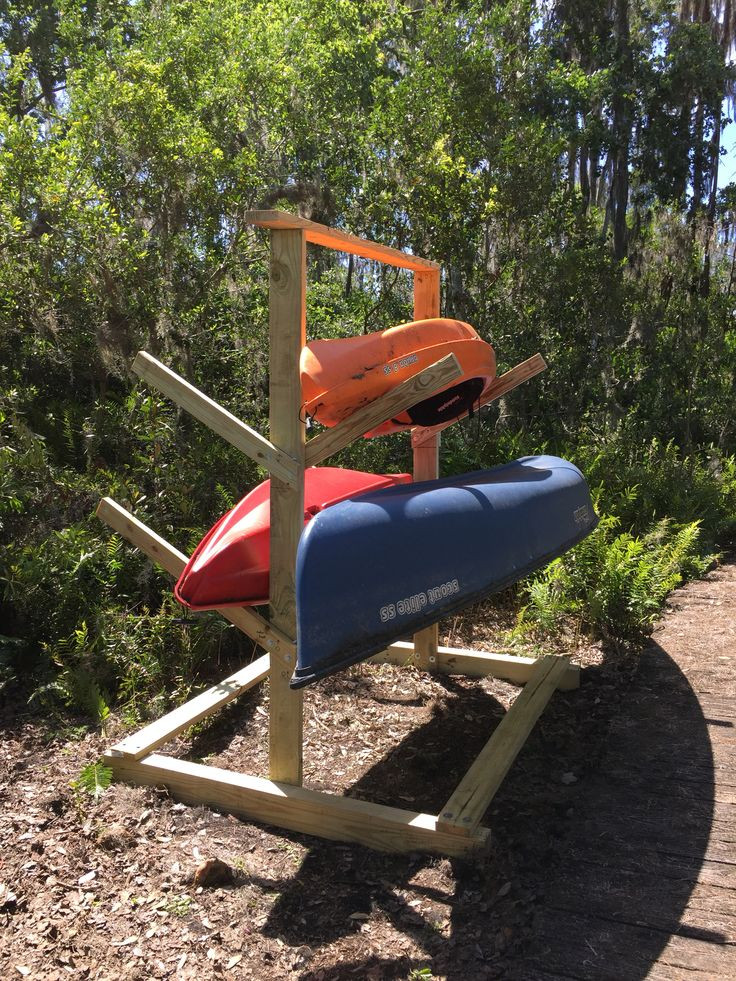 DIY Kayak Storage Rack  Best 25 Canoe storage ideas on Pinterest