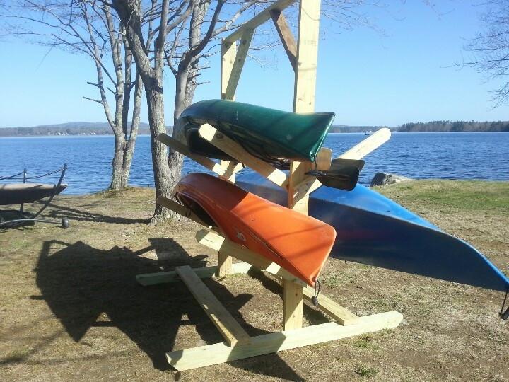 DIY Kayak Storage Rack  Kayak rack DIY Pinterest