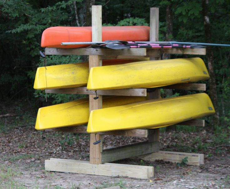 DIY Kayak Storage Rack  25 best ideas about Kayak rack on Pinterest