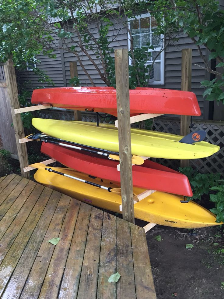 DIY Kayak Storage Rack  Best 25 Kayak storage rack ideas on Pinterest