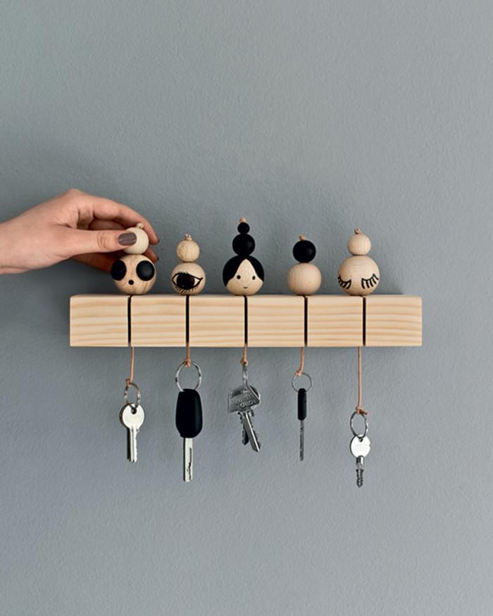 DIY Key Rack  DIY to try Key chain Ohoh Blog