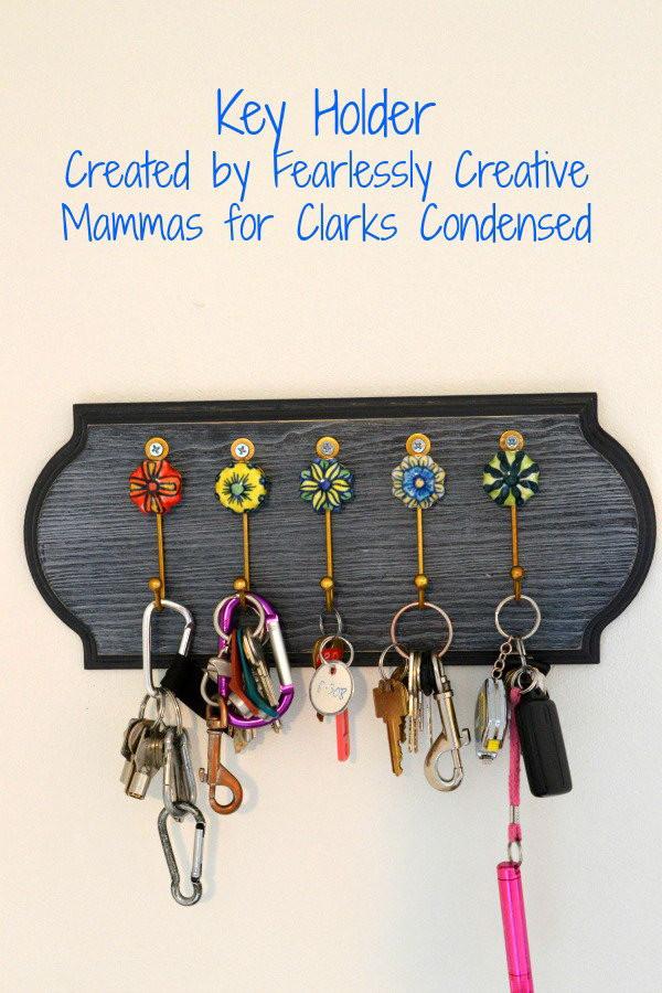 DIY Key Rack  20 DIY Key Holder Ideas Hative