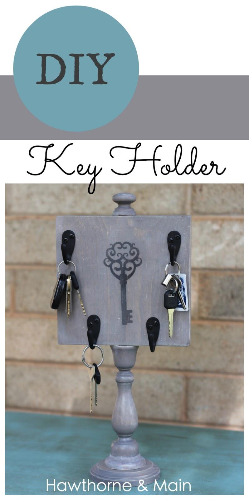 DIY Key Rack  DIY Key Holder – HAWTHORNE AND MAIN