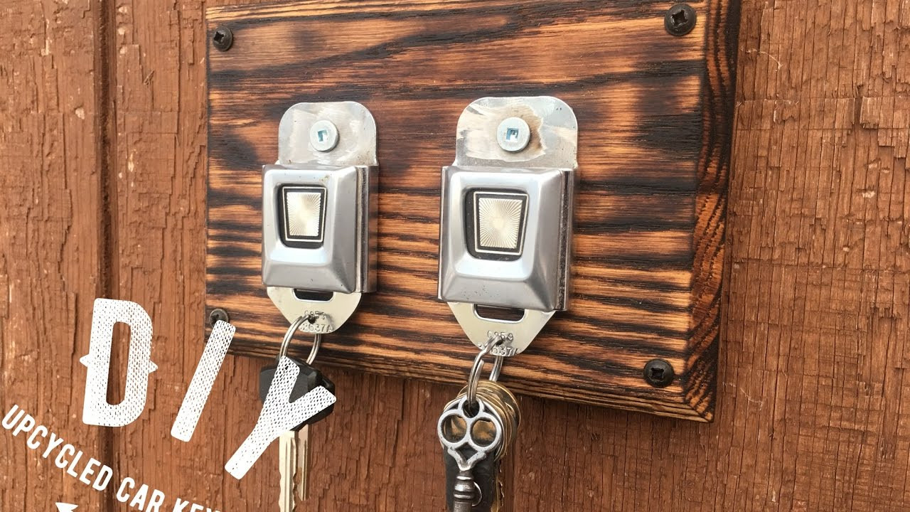 DIY Key Rack  Diy Seatbelt Key Rack